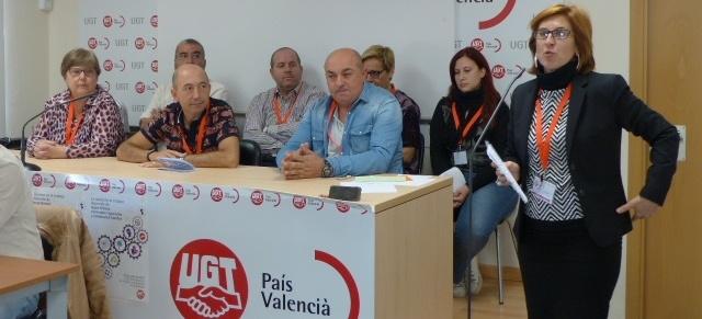 José Antonio García, nuevo Secretario General de FeSMC UGT Castellón, con el 85,71% de los votos del Congreso
