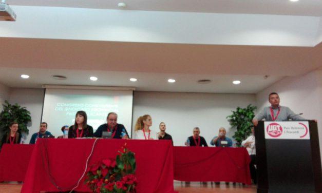 Eduardo Vacas González, nuevo secretario general con el 93% de apoyo del Congreso de Alicante