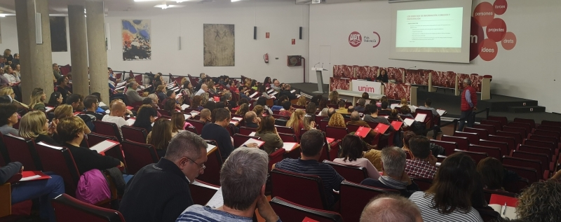 UGT realiza una multitudinaria jornada de formación para nuevos delegados y delegadas