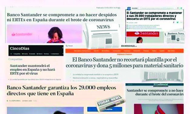 No lo maquillemos, es otro Expediente de Regulación de Empleo en el Banco Santander