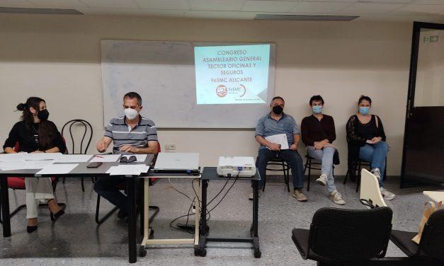 Asamblea General del Congreso del Sector Oficinas y Seguros de la provincia de Alicante